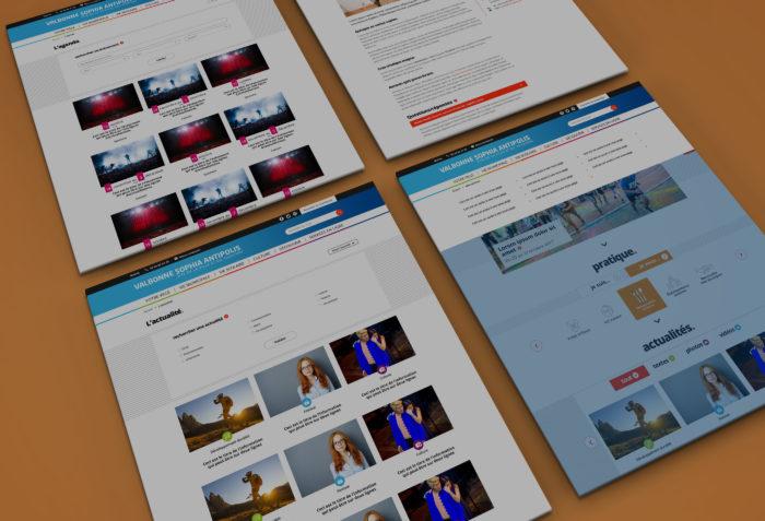 web design valbonne